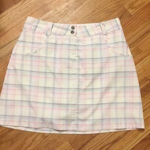 Nike golf skirt size 6